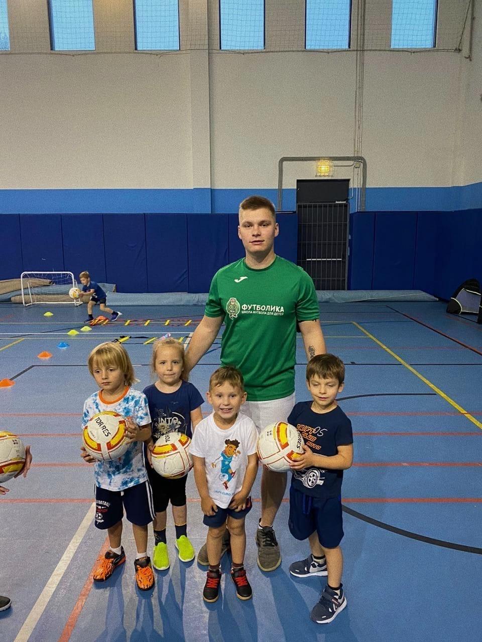 тренер футболики Казарин Владислав