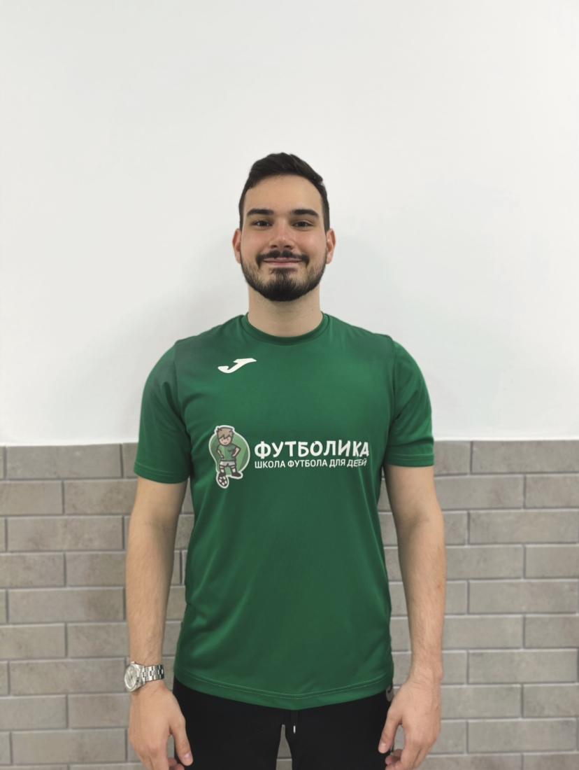 тренер футболики Серебряков Александр