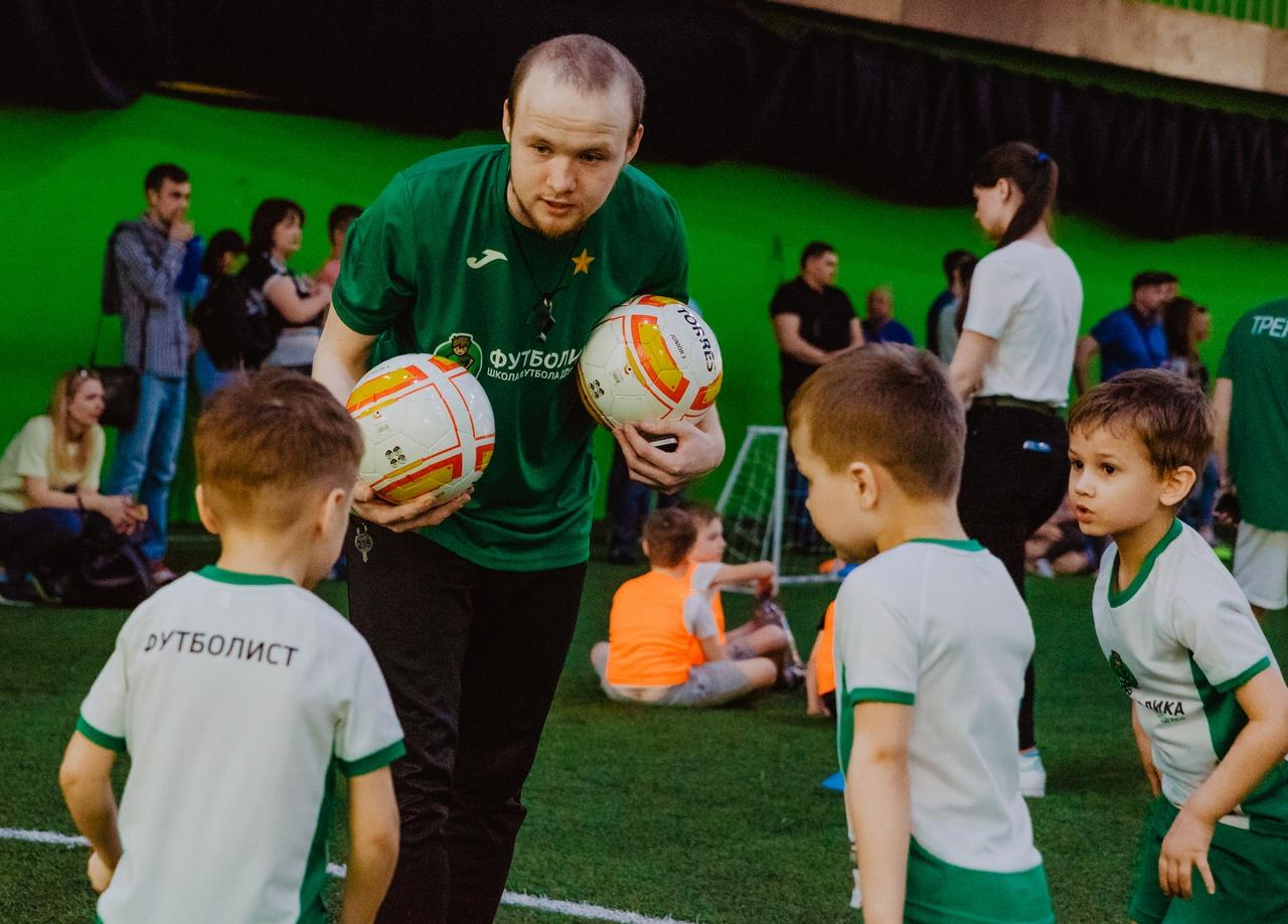 тренер футболики Стюфляев Сергей